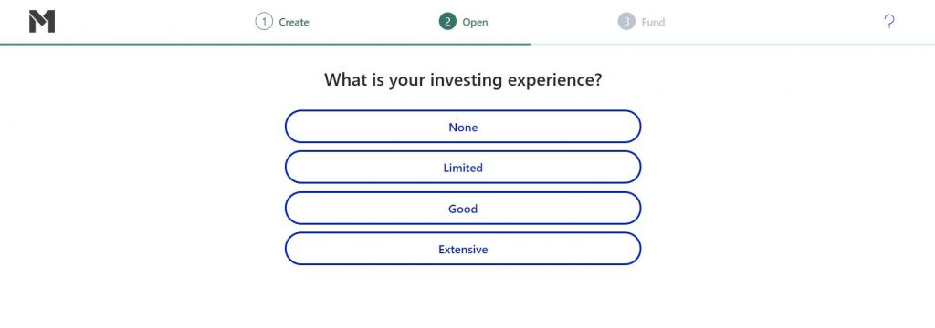 investing experience
